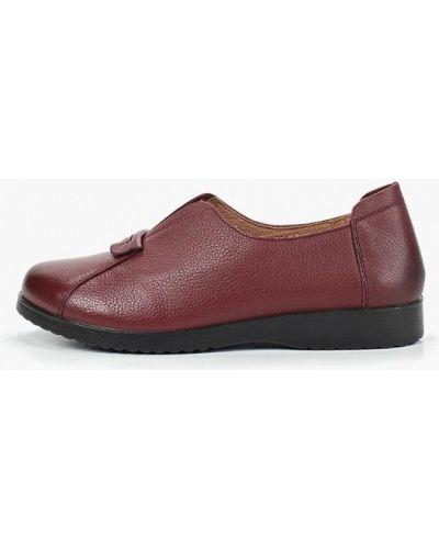 Кожаные туфли бордовый Baden