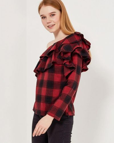 Красная блузка Paccio