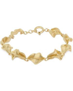 Złota bransoletka ze złota pozłacana Trine Tuxen