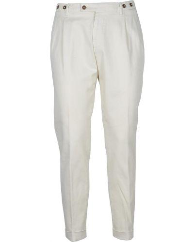 Białe spodnie Berwich