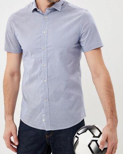 Голубая рубашка с короткими рукавами Celio
