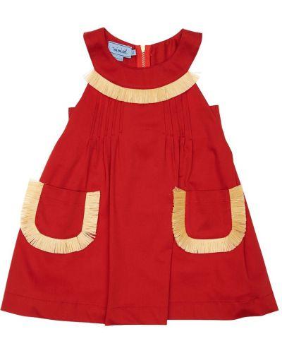 Платье с вырезом на молнии без рукавов Mi.mi.sol.