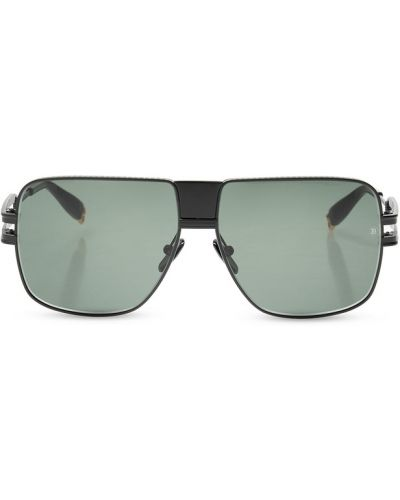 Czarne okulary Balmain