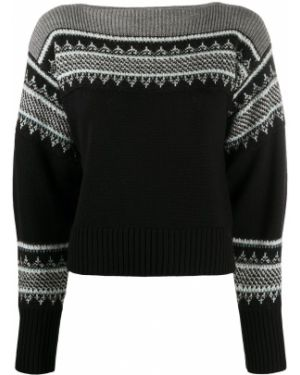 С рукавами белый шерстяной длинный свитер Philosophy Di Lorenzo Serafini
