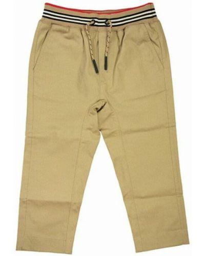 Spodnie - beżowe Burberry