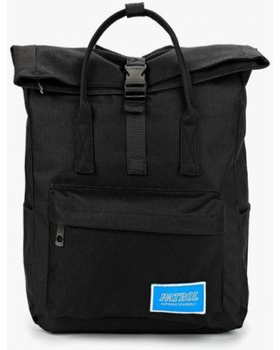 Черный рюкзак городской Patrol