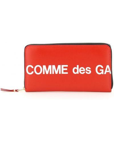 Żółty portfel skórzany Comme Des Garcons
