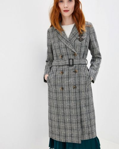 Пальто серое пальто Lusio