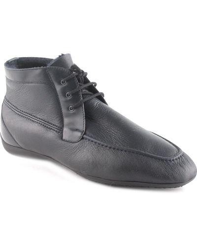 Кожаные ботинки осенние Moreschi