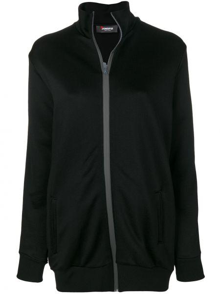 Куртка на молнии - черная Jo No Fui