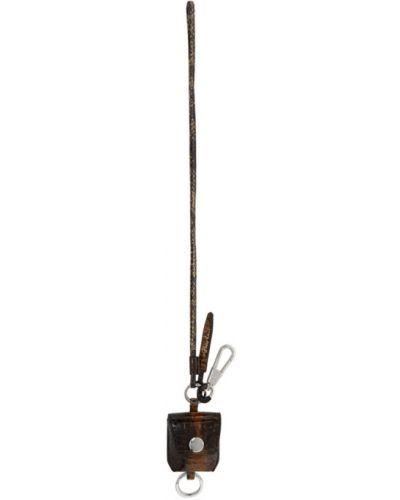 Коричневая ключница с подкладкой из натуральной кожи с тиснением 3.1 Phillip Lim