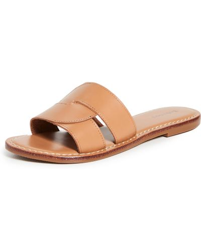 Sandały skórzane Soludos