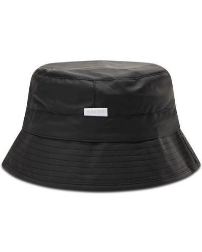 Czarny kapelusz Rains