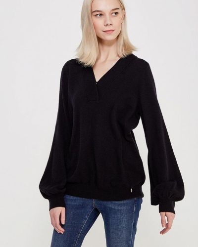 Черный пуловер Akhmadulina Dreams