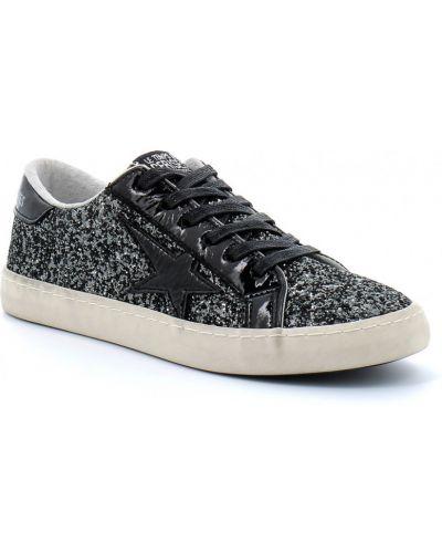 Sneakersy - czarne Le Temps Des Cerises