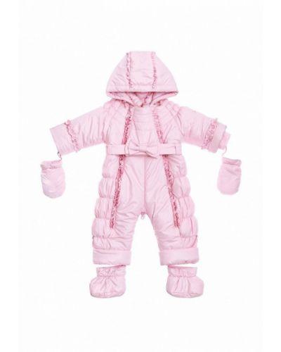 Розовый комбинезон теплый Babyline