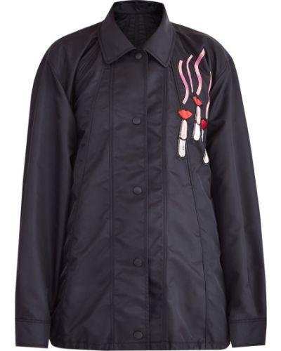 Куртка бархатная оверсайз Valentino