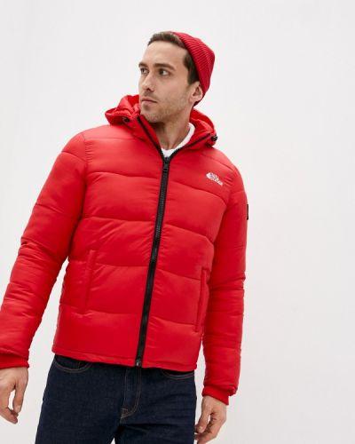 Утепленная красная короткая куртка Paragoose