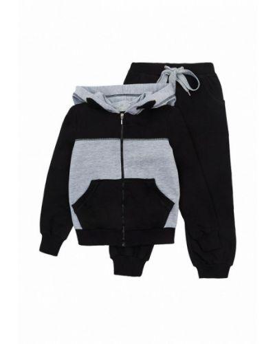 Костюмный черный спортивный костюм Kids Couture