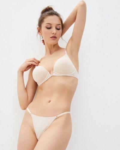 Бежевые трусы Calvin Klein Underwear