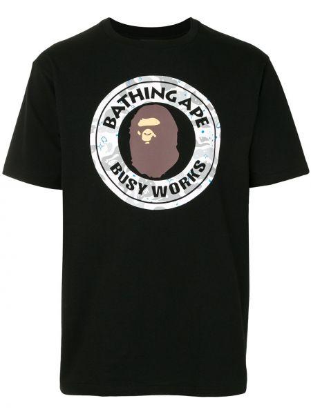 Koszula krótkie z krótkim rękawem z nadrukiem chudy Bape