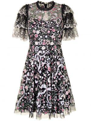 Платье в цветочный принт Needle & Thread