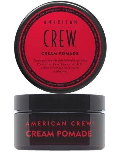 Бежевая губная помада с американской проймой American Crew
