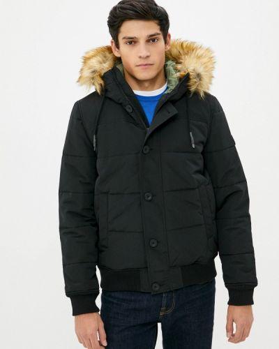 Черная утепленная куртка Mavi
