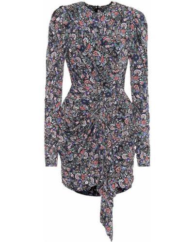 Платье мини из вискозы зимнее Isabel Marant