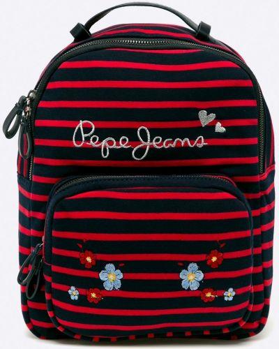 Рюкзак с отделениями с вышивкой Pepe Jeans