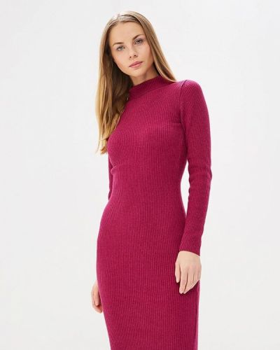 Платье весеннее розовое Brusnika