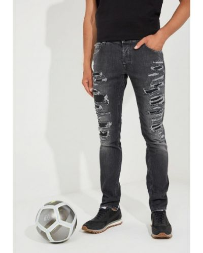 Черные джинсы-скинни Just Cavalli