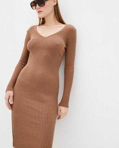 Вязаное платье - коричневое Sewel