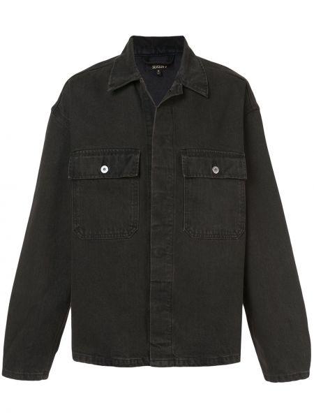 Klasyczne czarne jeansy bawełniane Yeezy