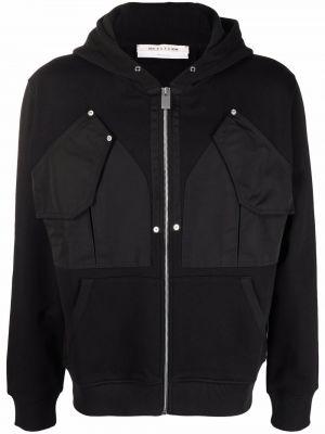 Черная куртка с капюшоном на молнии 1017 Alyx 9sm