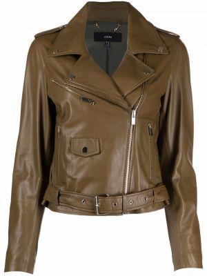 Кожаная куртка - зеленая Arma