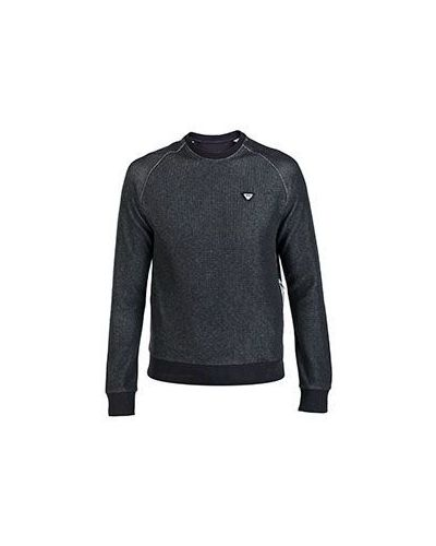 Серый спортивный свитер Armani Jeans