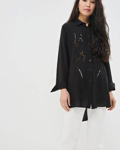 Рубашка с длинным рукавом черная Care Of You