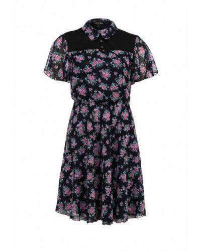 Платье платье-сарафан синее Luann