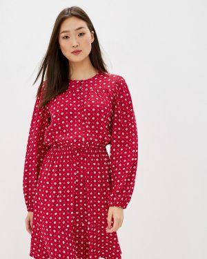Повседневное платье розовое осеннее Marks & Spencer