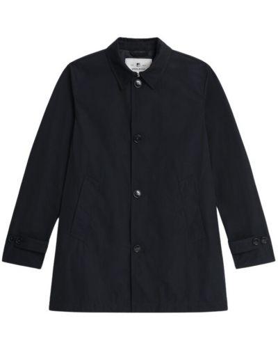 Płaszcz przeciwdeszczowy elegancki - czarny Woolrich