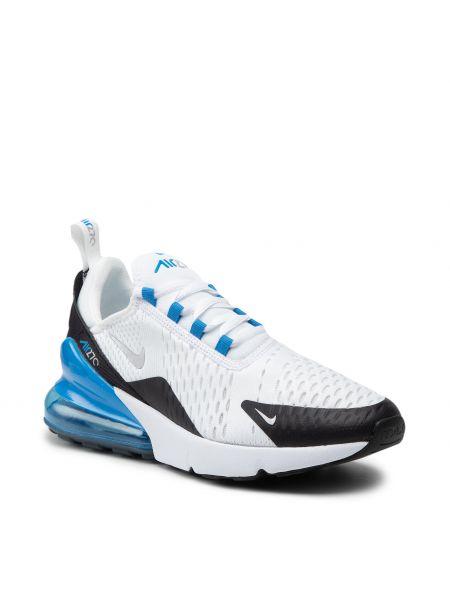 Białe półbuty srebrne Nike