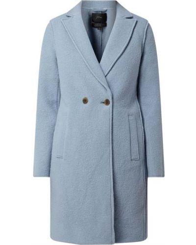 Niebieski płaszcz wełniany J Crew