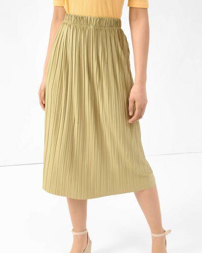 Zielona spódnica midi Orsay