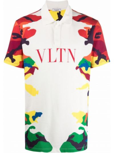 Белая рубашка с воротником Valentino