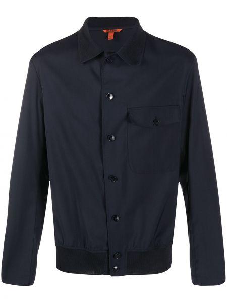 Koszula z długim rękawem klasyczna ciemnoniebieski Barena