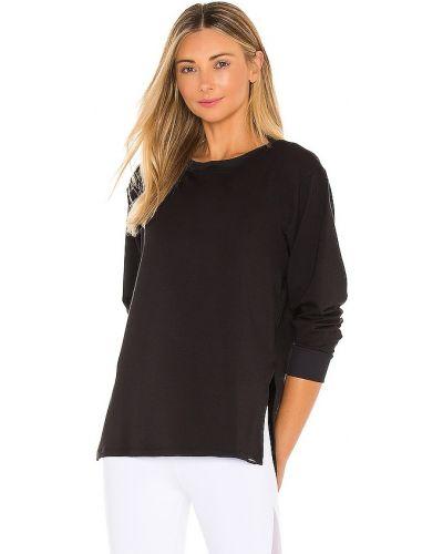 Czarny pulower z nylonu Koral