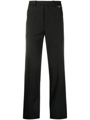 Czarne spodnie wełniane Off-white