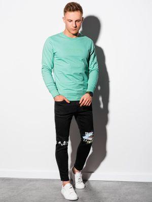 Bluza dresowa - turkusowa Ombre
