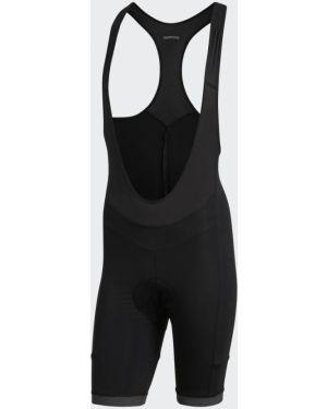 Спортивные черные спортивные шорты Adidas